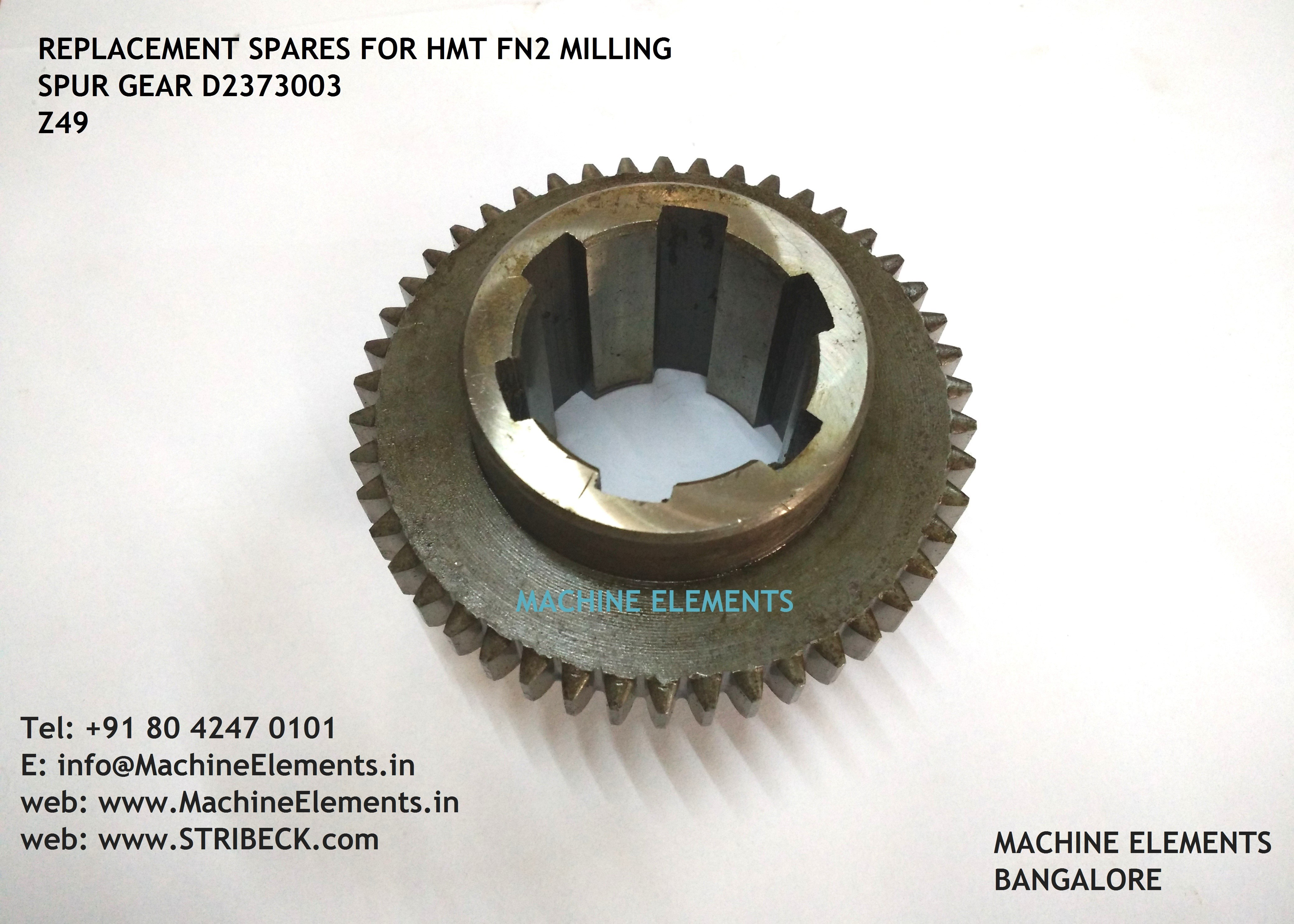 D2373003 -Z49 SPUR GEAR - 4 spline