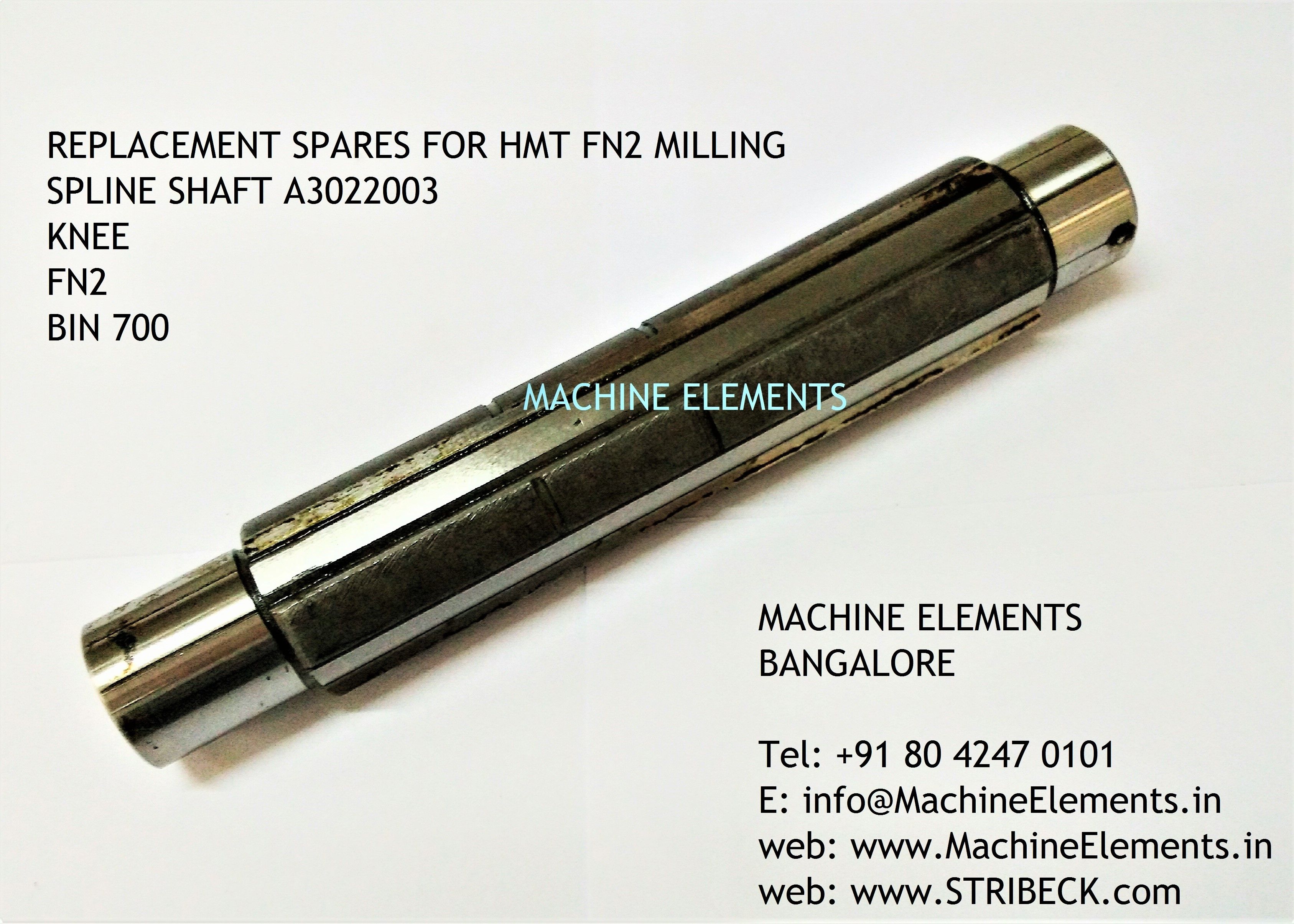 SPLINE SHAFT A3022003