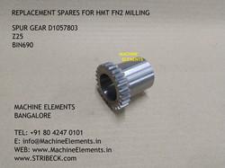 SPUR GEAR D1057803 Z25