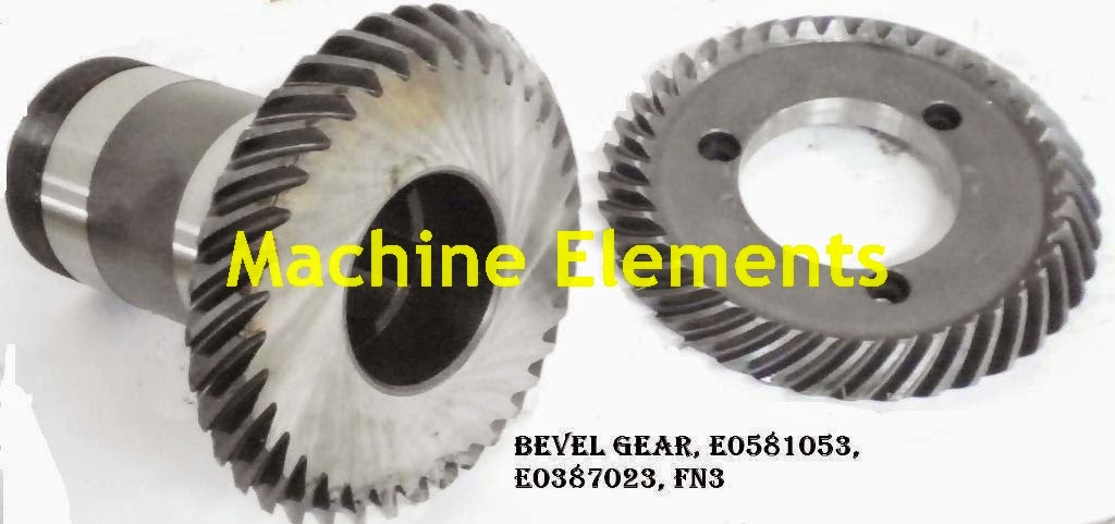 SPIRAL BEVEL GEAR SET E0581053