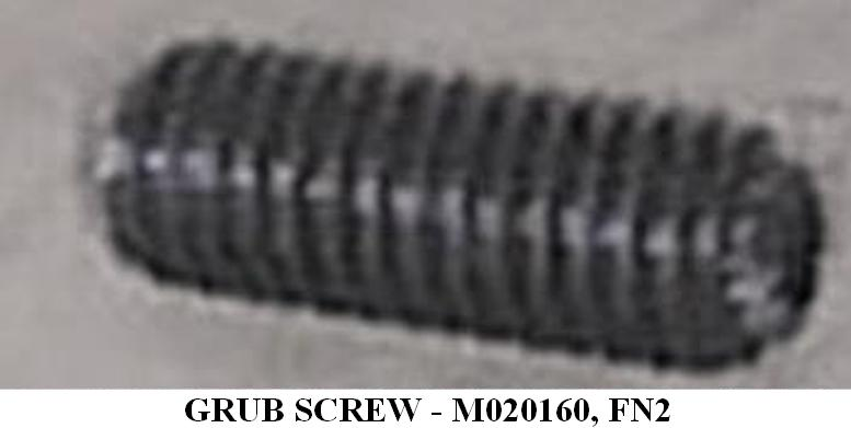 M020160- GRUB SCREW