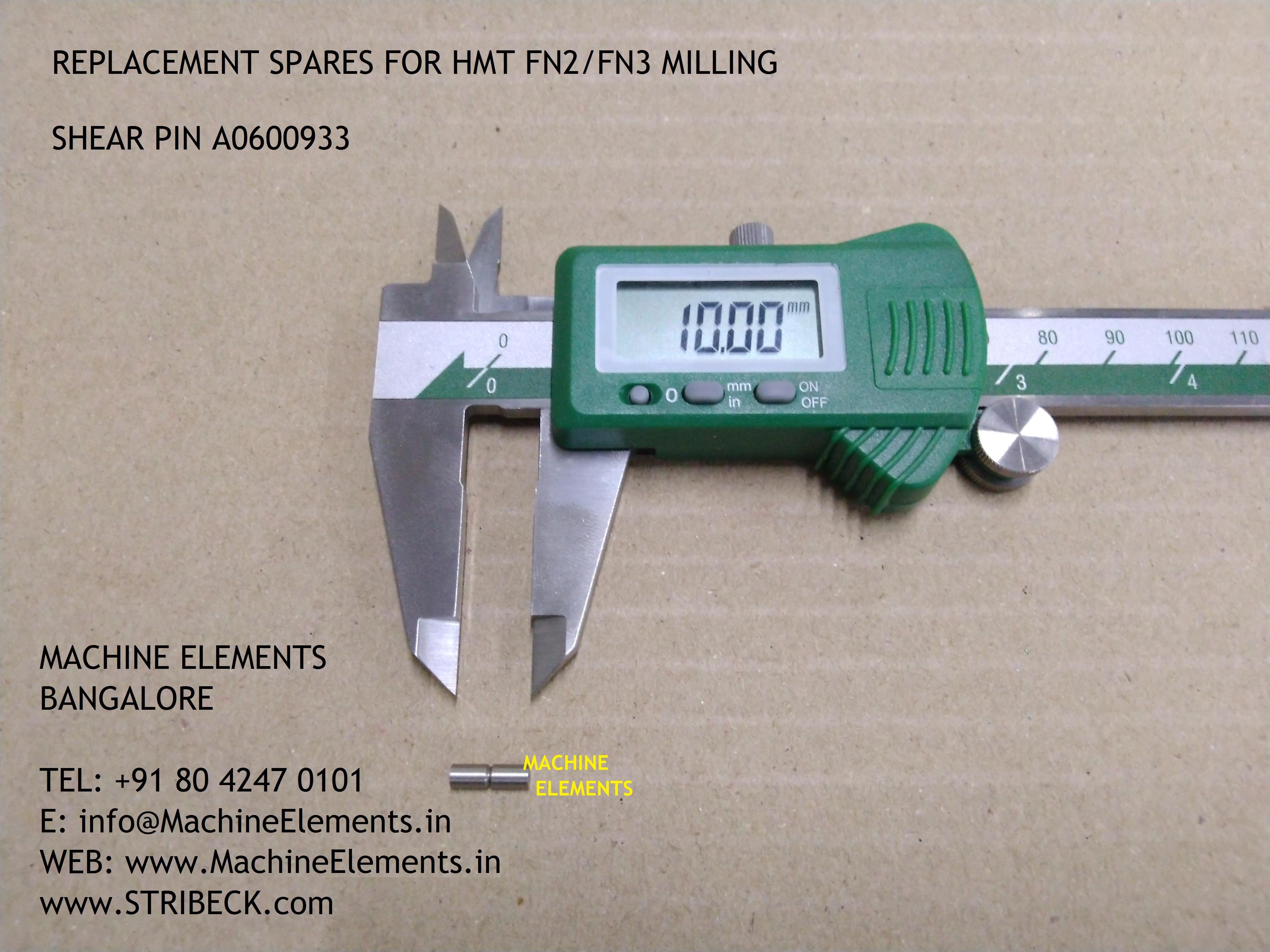 SHEAR PIN A0600933