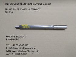 SPLINE SHAFT A3625033