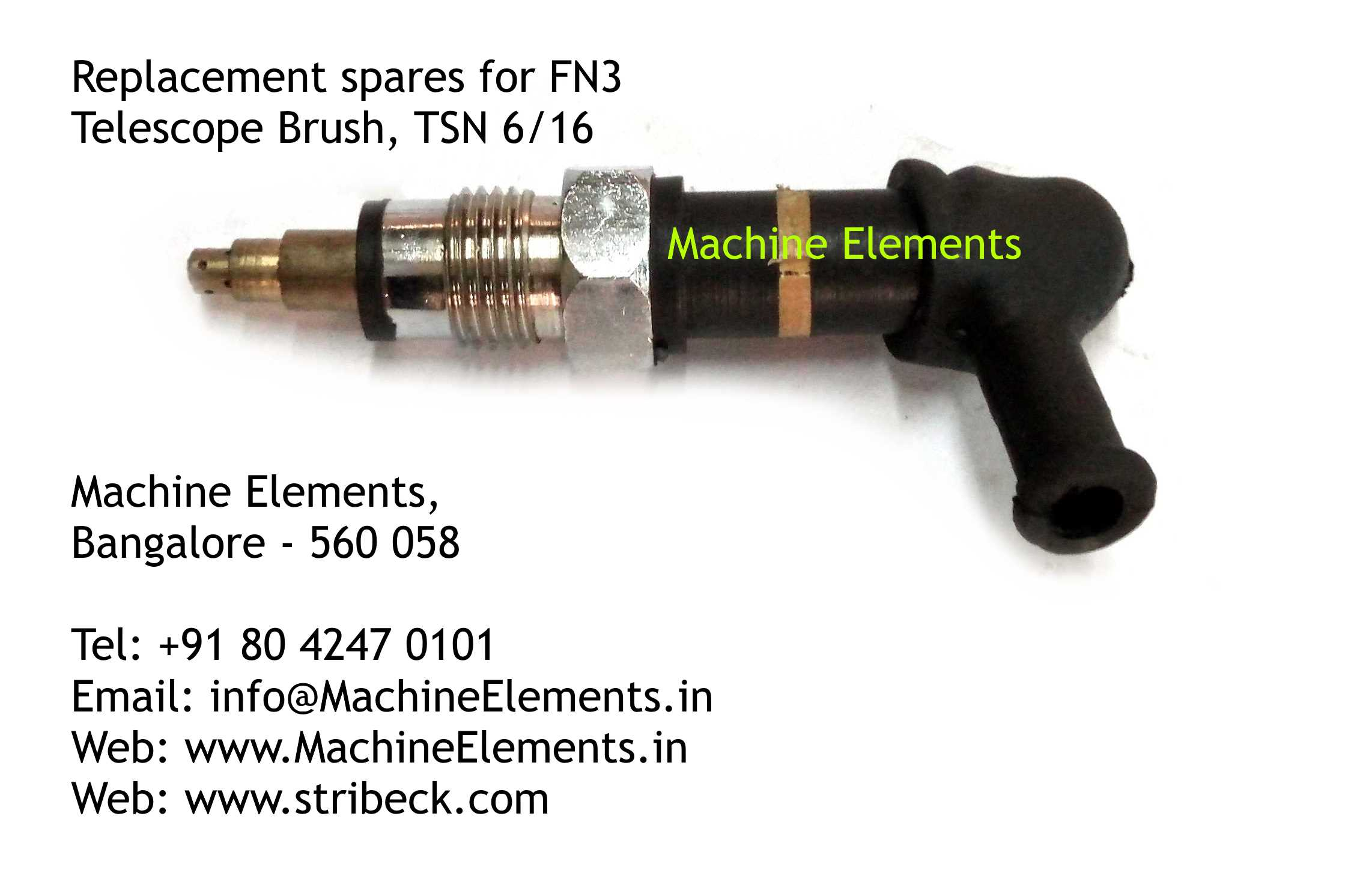Telescope Brush, TSN 6 & 16