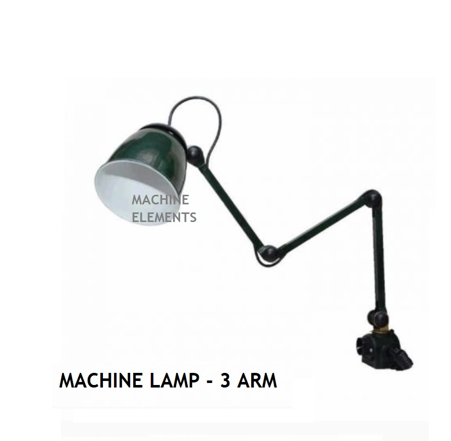 MACHINE LAMP - 3 ARM