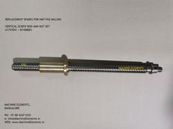 A1737041  B1458001 VERTICAL SCREW ROD AN
