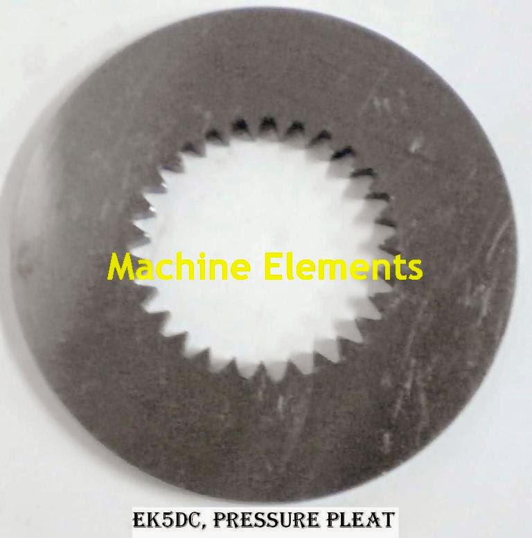EK5Dc - pressure plate