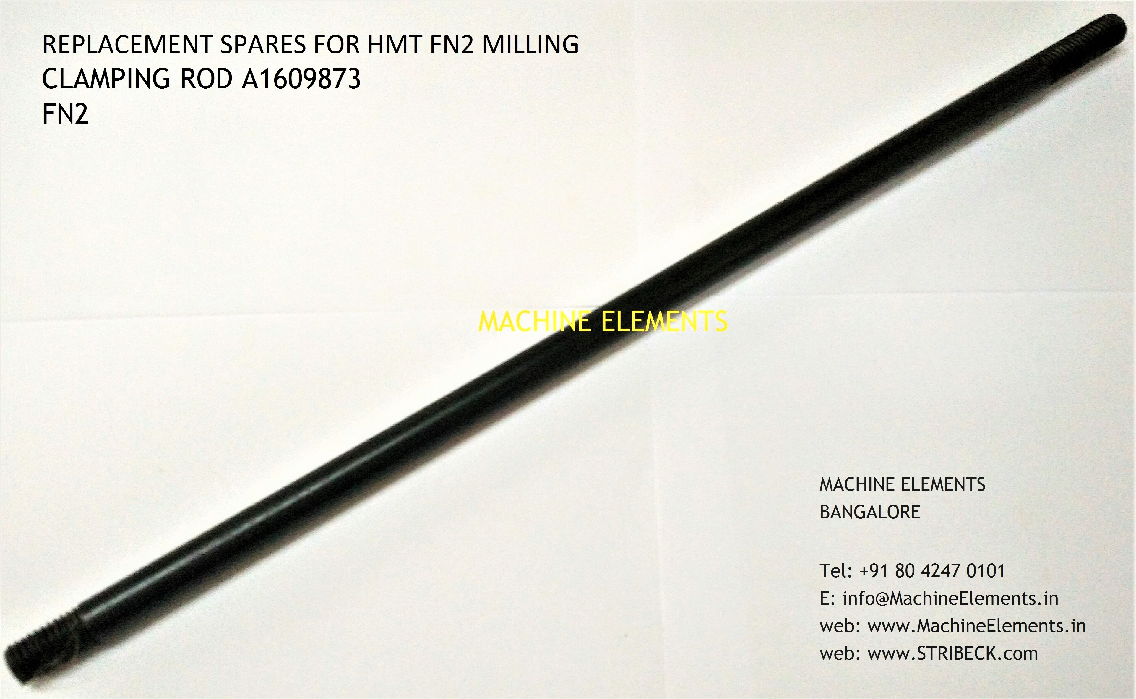 CLAMPING ROD A1609873