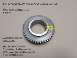 SPUR GEAR D2083833 Z46 BIN 551