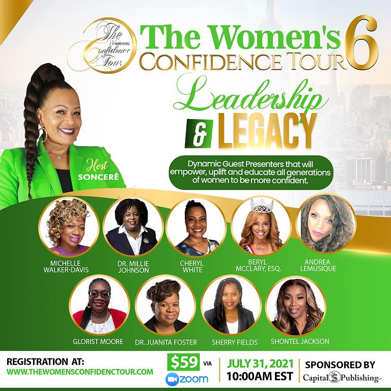 The Women's Confidence Tour #6
