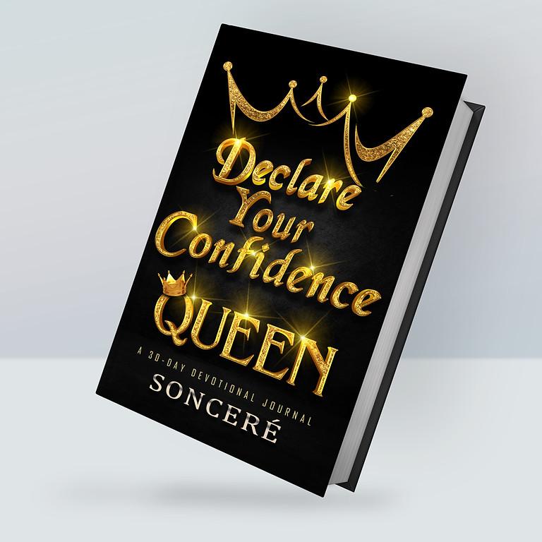Pre-Order, Declare Your Confidence Queen! Devotional Journal