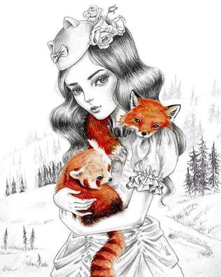 ג׳ולי פיליפנקו Fox Love - KOOKOO auction בית מכירות קוקו