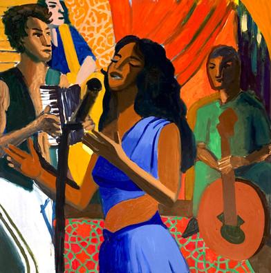 גיא לוי שרה בערבית - KOOKOO auction בית מכירות קוקו
