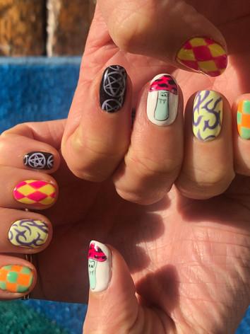 Ashley Williams Nails