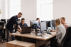 group-young-business-people-working-offi