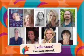 Celebrating some of our volunteers