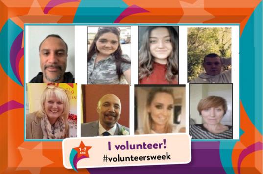 Our amazing volunteers