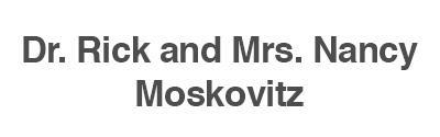Dr. Rick and Mrs. Nancy Moskovitz