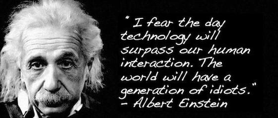 A generation of idiots?