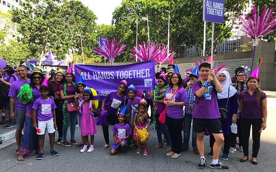The Purple Parade...