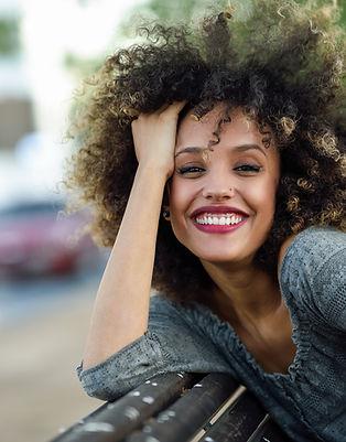 Mooi Meisje met Afro