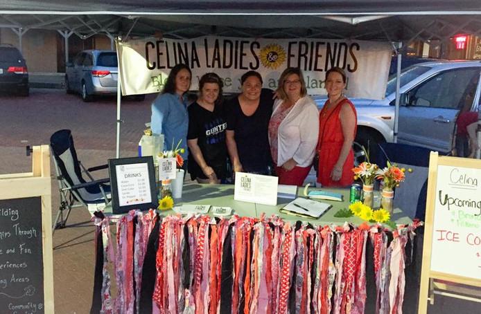 Celina Ladies & Friends at the Celina Friday Night Market