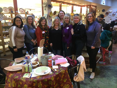Celina Ladies & Friends Pottery Class