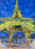 Eiffelturm by Night-100x140x4 Juli 2017-