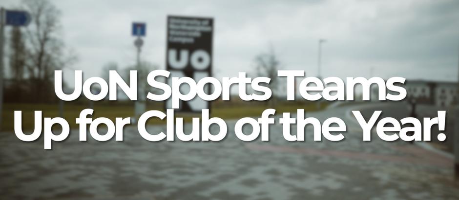 University of Northampton Sports Team's up for awards