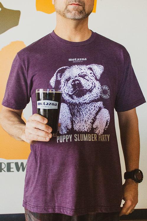 Puppy Slumber Party T-Shirt (Unisex)