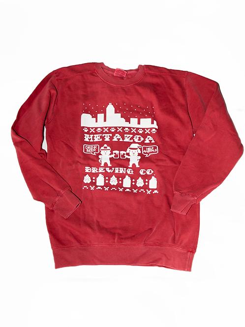 Holiday Crew Neck Sweatshirt