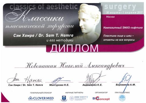 Классики пластической хирургии. Сэм Т.Хамра и его методики. Композитный SMAS-лифтинг.