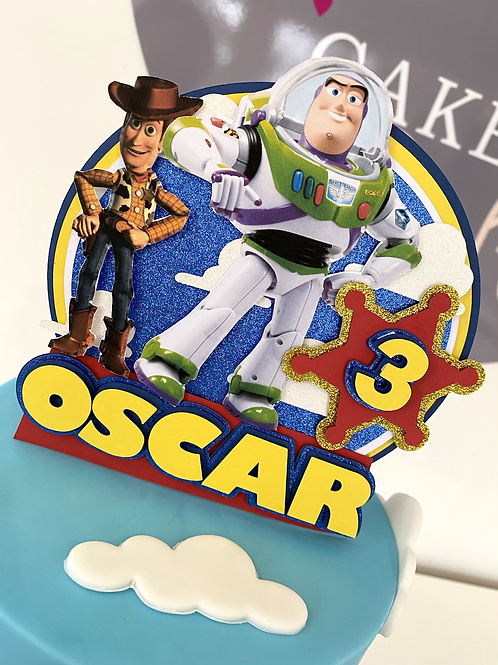 Toy Story themed topper