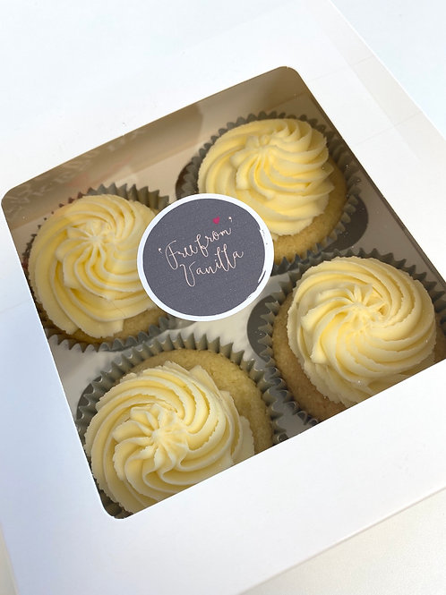 'Free from' vanilla cupcakes