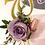 Thumbnail: Floral gold drip birthday cake
