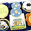 Thumbnail: Personalised themed biscuit box