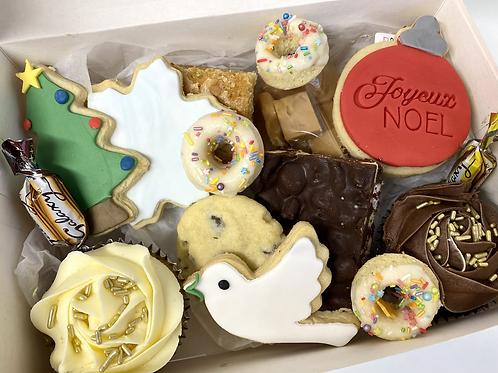 'Jingle all the way' Christmas treat box