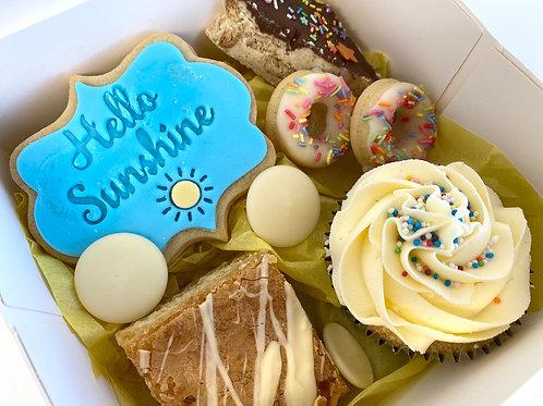 'Hello Sunshine' pick-me-up treat box