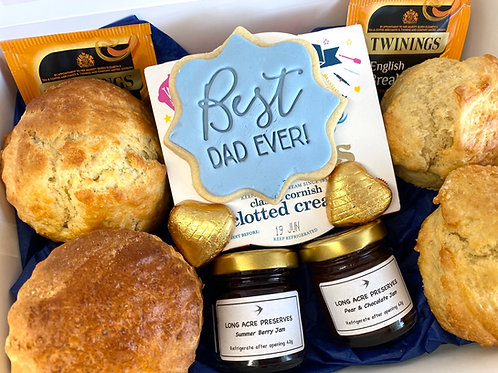 Special edition Fathers Day 'Time for Tea' Cream Tea box