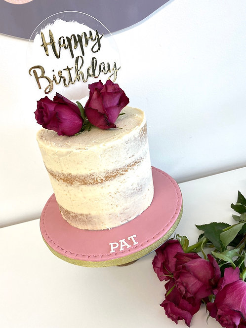 'Bake and blooms' birthday gift package