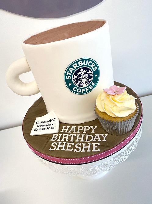 Starbucks mug cake