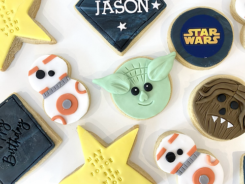 Star Wars themed biscuit box