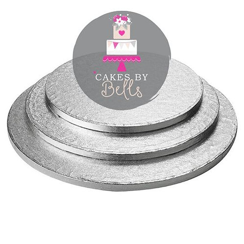 Silver Cake Drum