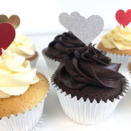 'Sweetheart' Valentines Day cupcakes
