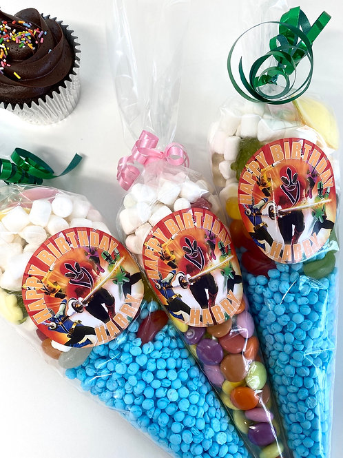 Bespoke theme Candy Cones By CHEW!