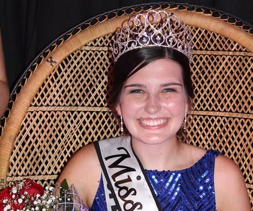Newly crowned Miss Nackawic 2018