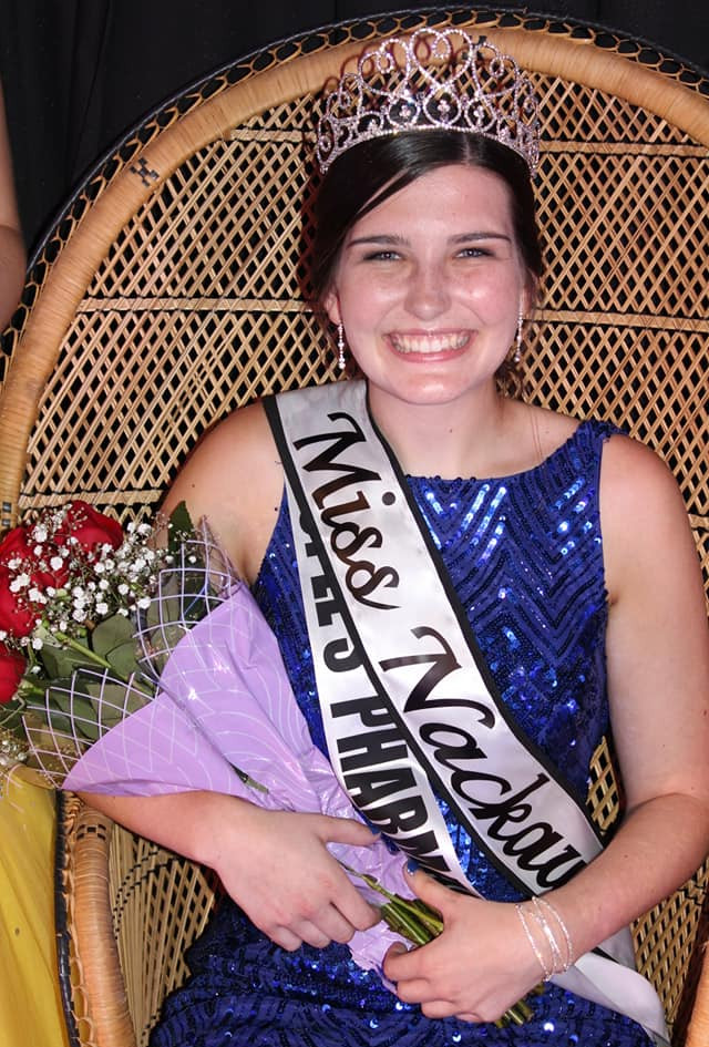 Newly crowned Miss Nackawic 2018