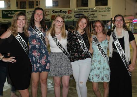 Miss Nackawic contestants