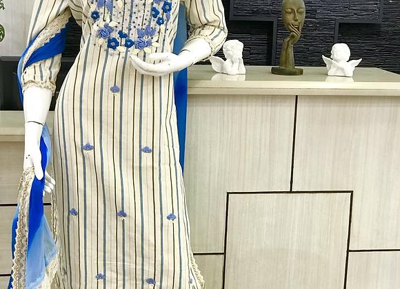 Stitched Churidar set