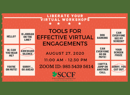 Register for SCCF's Free Virtual Engagement Workshop